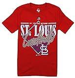 Majestic St. Louis Cardinals MLB Big Boys Short Sleeve Walk Off Homer Tee - Red