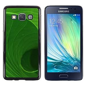 TopCaseStore / la caja del caucho duro de la cubierta de protección de la piel - Plant Nature Forrest Flower 71 - Samsung Galaxy A3 SM-A300
