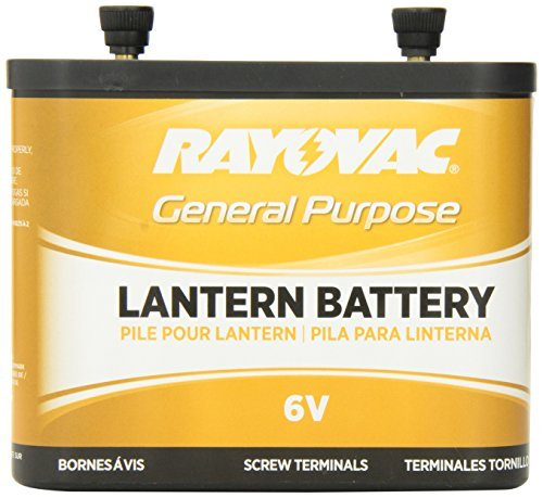 Rayovac 918 Lantern Battery, 6 Volt Screw Terminals by Rayovac (Lantern Terminal Screw)