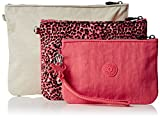 Kipling Womens Iaka L Wristlet Bag Organiser Fiesta Animal, One Size
