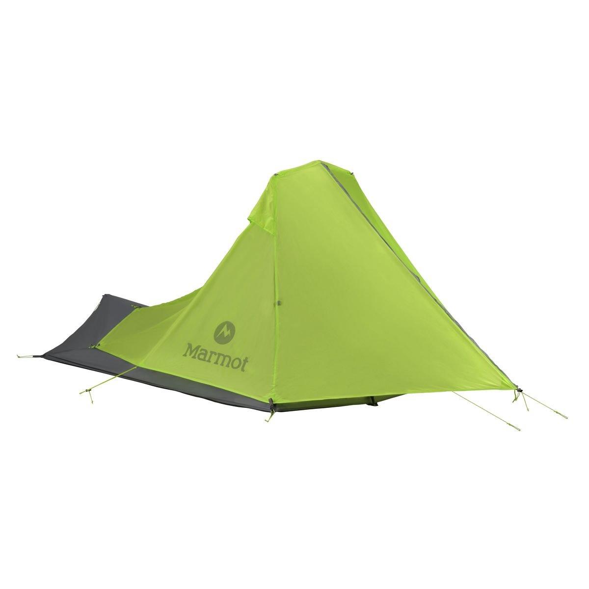 Marmot Nitro 2p Tent: 2 Person 3 Season Green Lime/Steel, One Size by Marmot   B00M85WVDO