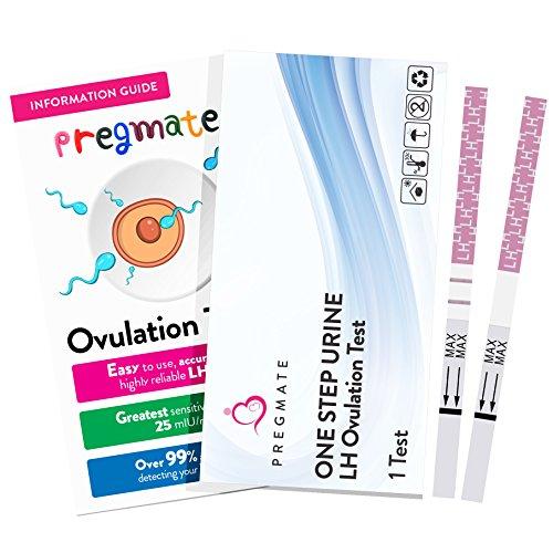 PREGMATE 25 Ovulation Test Strips OPK Predictor Kit, 25 LH Tests