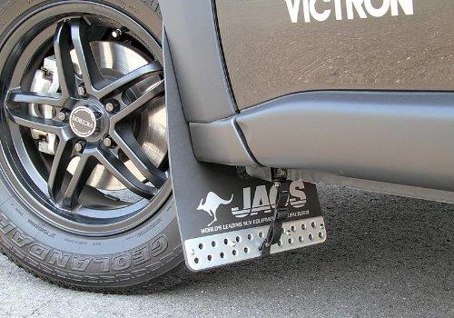 ジャオス(JAOS) JAOS マッドガードIII フロントセット ブラック エクストレイル 31系 MUD GUARD3 BLACK FRONT X-TRAIL 07+ 【年式: 07.08-】 【適応: ALL】 B622442F B00F4NY34C