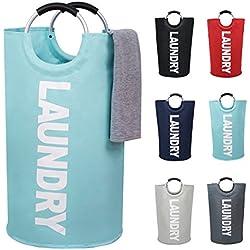 Large Laundry Basket Collapsible Fabric Laundry Hamper