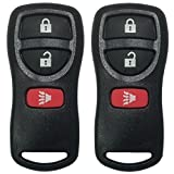 USARemote 3 Button Replacement Keyless Entry Remote Control Pair for Infiniti and Nissan Vehicles KBRASTU15