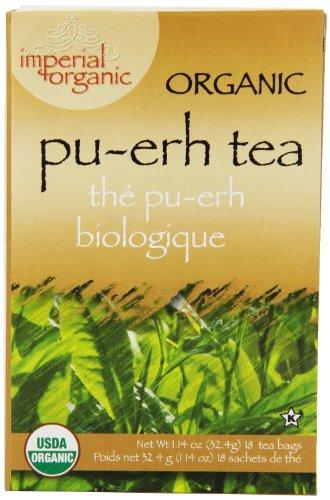 Imperial Organic Tea, Pu-Erh, 18 Tea Bags,1.14 Ounce