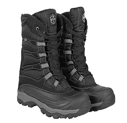 Khombu Men's Free Fall Extreme Winter Boots,Black,10