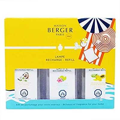 Lampe Berger Fragrance Trio Refill for Home Fragrance Oil Diffuser - 3x6.08 Fluid Ounces - 3x180 milliliters