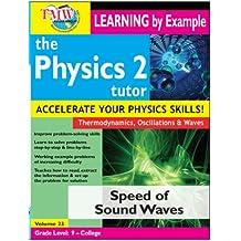 Physics Tutor 2: Speed of Sound Waves