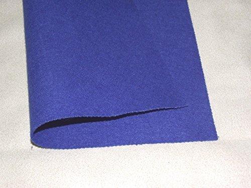 Swincraft - Acryl Filz Spieltische Poker Stoff Material - Königsblau - Blau, Sample - 23cmx23cm