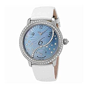 Blancpain Heure Decentree Automatic Ladies Watch 3650A-3554L-58B