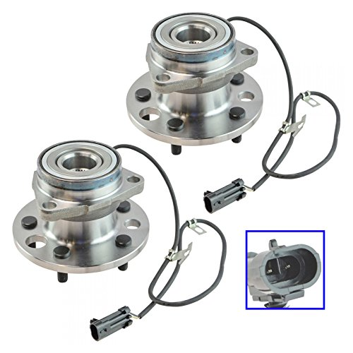 Front Wheel Hub & Bearing Assembly Pair Set for 95-02 Chevy Astro Safari AWD