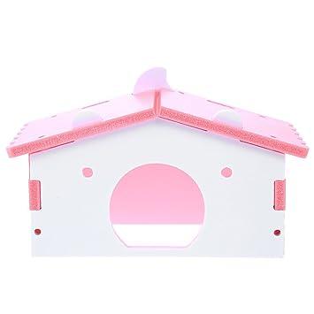 Powlance - Hámster pequeño para Mascotas, Conejo, Erizo, caseta para Dormir: Amazon.es: Productos para mascotas