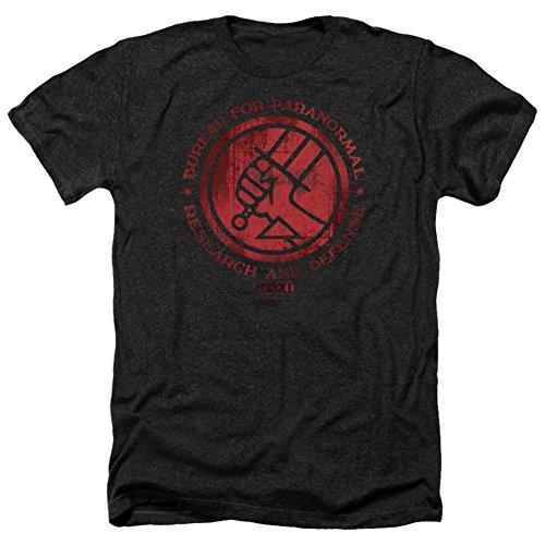 Hellboy Ii- Bprd Logo T-Shirt Size L