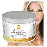 Face Mask - Made With Organic Natural Ingredients, Hydrating Masque, Anti Aging, Anti Wrinkle, Shrink Pores, Stimulate Collagen - Aloe Vera, Coconut Oil, Cocoa Butter. Skin Nation by Michelle Stafford