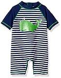 Little Me Baby Boys' Rashguard Suit, Whale, 12M