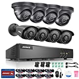 [New 960P] ANNKE 8CH 1080N Security DVR with (8) HD 1.3MP(1080*960) In/Outdoor Fixed CCTV Cameras, IP66 Weatherproof Metal Housing, P2P QR Code Scan Easy Remote Setup (4 Bullet+4 Dome)-NO HDD Review