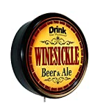 WINESICKLE Beer and Ale Cerveza Lighted Wall Sign