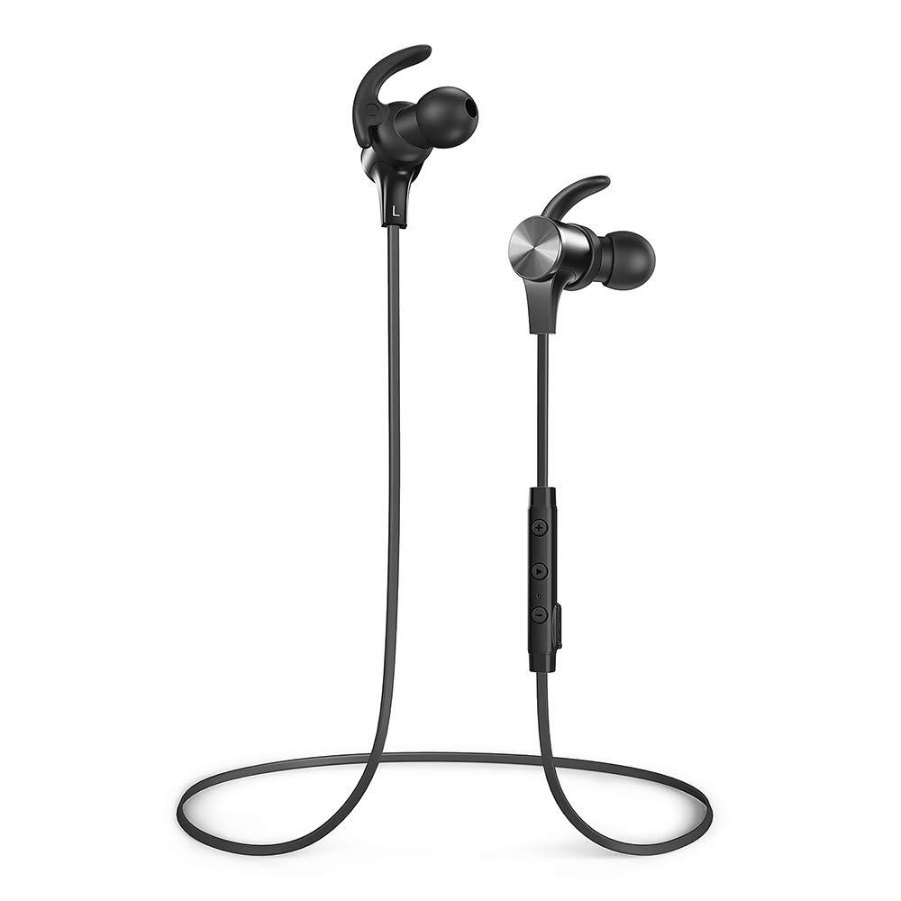 8b14b476b83 Wireless Bluetooth Headphones, TaoTronics Bluetooth 5.0: Amazon.co.uk:  Electronics