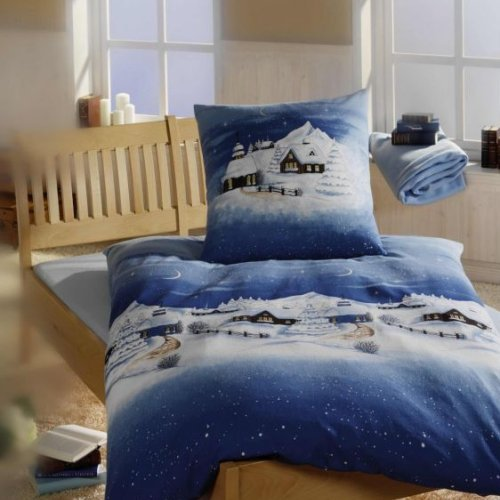 weihnachts bettw sche 155 220 m belideen. Black Bedroom Furniture Sets. Home Design Ideas