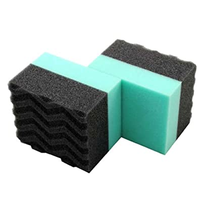 Chemical Guys Acc_3002 Wonder Wave Durafoam Contoured Large Tire Dressing Applicator Pad (Pack of 2): Automotive