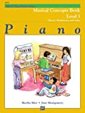 Alfred's Basic Piano Course, Musical Concepts Book, Level 3, June Montgomery and Martha Mier, 0739009850
