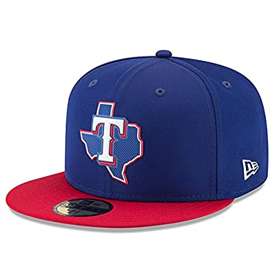 Texas Rangers New Era 2018 On-Field Prolight Batting Practice 59FIFTY Fitted Hat – Blue/Red