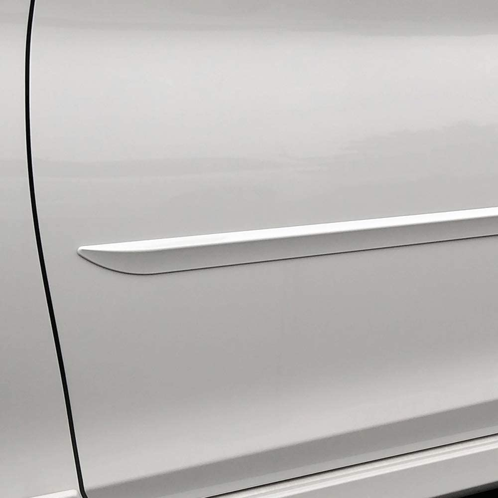 Dawn Enterprises FE7-OUTBACK Custom Body Side Molding Compatible with Subaru Outback K1X Crystal White