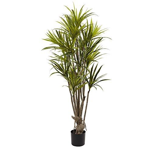 Nearly Natural Dracaena Silk Tree, 5' by Nearly Natural