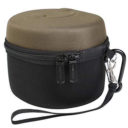 COMECASE Hard Ear Protection Carrying Case for Walker's Game Ear Razor Slim Electronic Muff/ Howard Leight by Honeywell Impact Sport Earmuff. Includes Mesh Pocket for Accessories