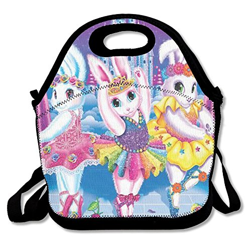 UNERTLY Lunch Boxes Frank Ballerina Bunnies Lunch Tote Lunch (Frank The Bunny Costumes)
