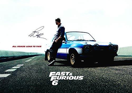 fast and furious signed picture - 6