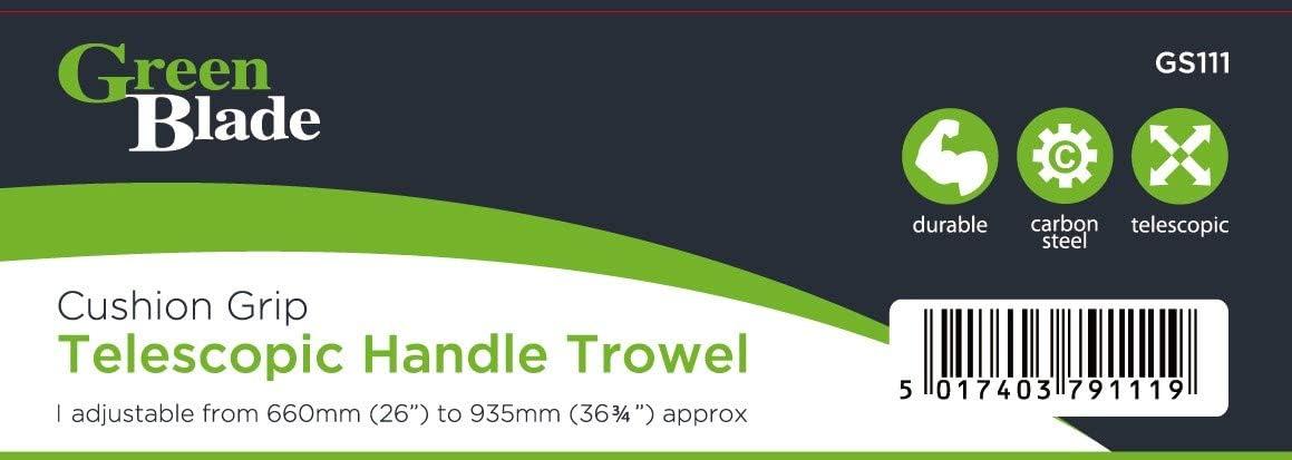 2 x Green Blade BB-GS111 Telescopic Handle Trowel