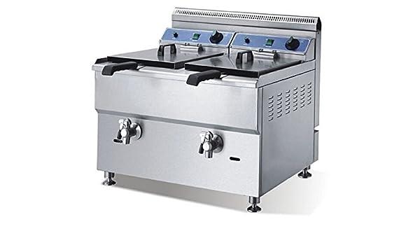 Válvula de gas dos GOWE cilindro bedmaker horno patatas fritas de pollo frito horno gas freidora de acero inoxidable: Amazon.es: Bricolaje y herramientas