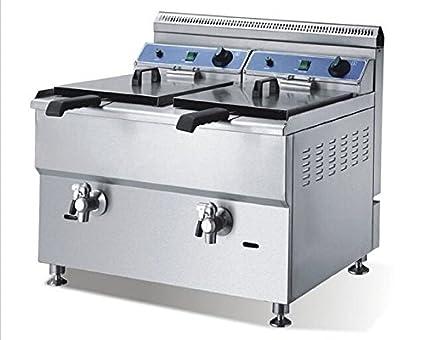 Válvula de gas dos GOWE cilindro bedmaker horno patatas fritas de pollo frito horno gas freidora