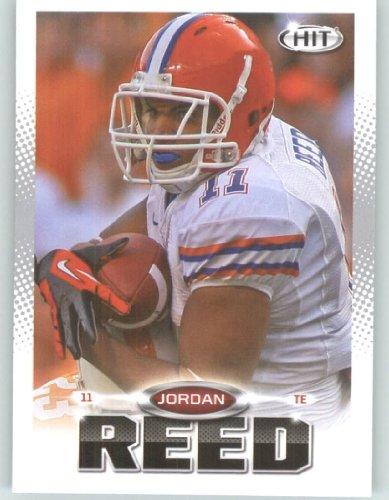 2013 Sage Hit Football Card #111 Jordan Reed / Florida Gators - Washington Redskins (RC - Rookie Card) NFL Trading (Washington Sage)