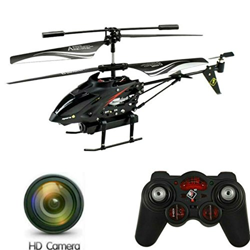SkyCo S977 2.4GHz RC Helicopter with Video & Photo Camera 3.5CH Gyroscope,Ready to Fly,with Led Lights Remote Control Helicopter