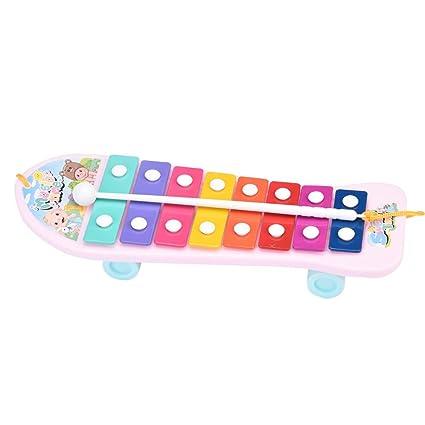 Kids Baby Musical Educational Developmental Music Bell Toy 8 Tone