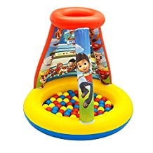 Paw Patrol To The Lookout Playland with 15 Balls Playhouse