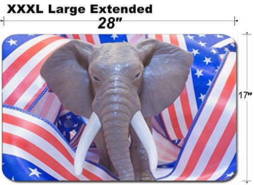 (MSD Large Table Mat Non-Slip Natural Rubber Desk Pads Image ID: 6592104 Republican)