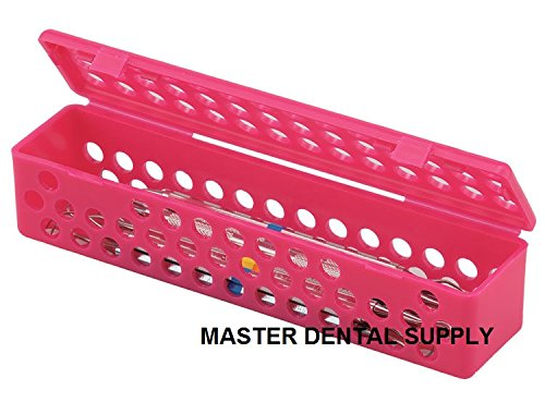 Instrument Sterilizing Tray Container Sterilization Plastic Cassette PINK Microbial Protection