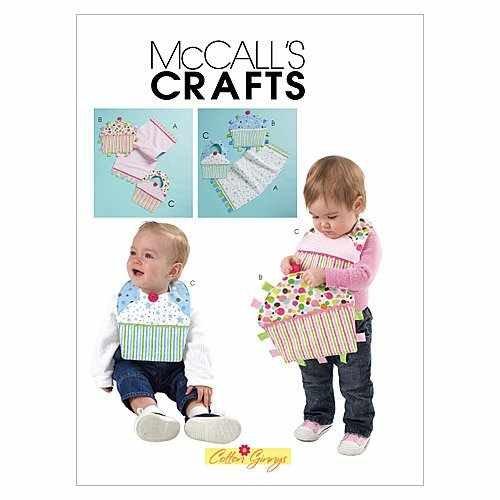 - MCCALLS M6368 BABY BIRTHDAY BIBS, BURP CLOTH & TOY (BOY & GIRL) ~ SEWING PATTERN