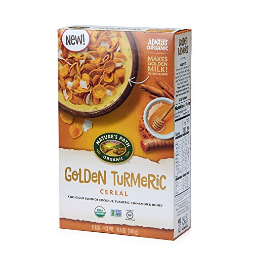 Nature's Path Golden Turmeric Cereal, Healthy, Organic,