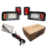Performance Plus Carts Club Car DS Golf Cart Full LED Headlight Tail Light Kit 1993-Up