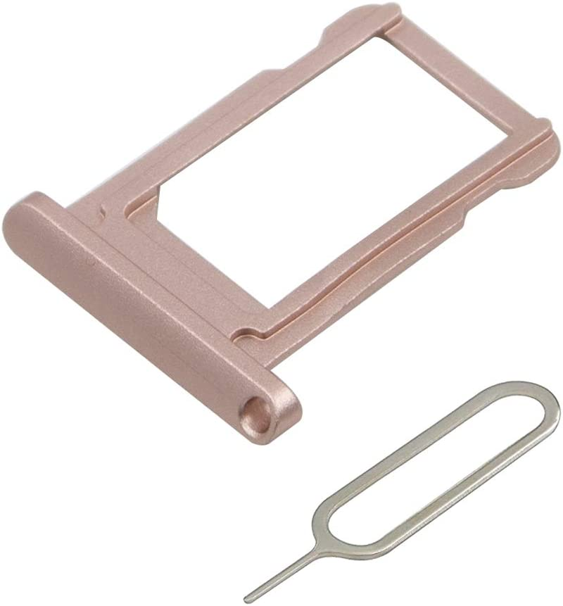 MMOBIEL SIM Card Tray Holder Replacement Compatible with iPad Mini 4 / iPad Pro 9.7 inch 2016 (Rose Gold) incl. Sim Pin