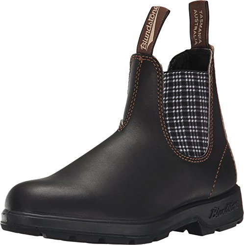Blundstone Unisex Original 500 Series, Stout Brown/Navy Tartan, 6.5 M US Mens/ 8.5 M US Womens/ 5.5 AU