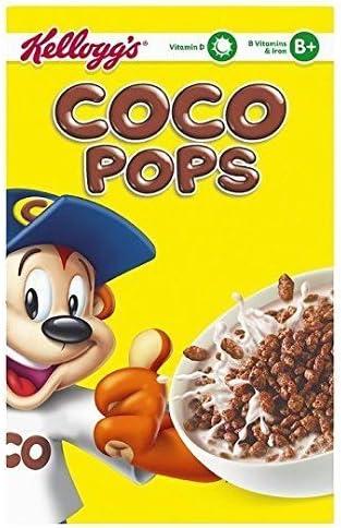 Kelloggs Coco Pops - Cereales de arroz inflado con chocolate - Caja de 295 g: Amazon.es: Alimentación y bebidas