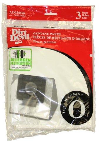 Dirt Devil Type O Allergen Vacuum Bags , AD10030