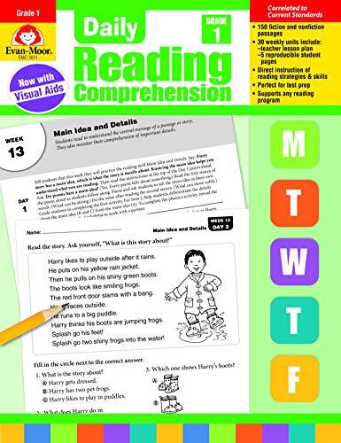 Daily Reading Comprehension, Grade 1]()