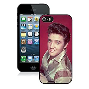 Elvis Presley 1 Black Hottest Sell Customized iPhone 5 5S Case